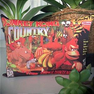 Mini Almofada Donkey Kong Country