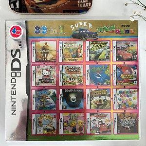 Super 39 jogos em 1 para Nintendo DS, 2DS ou 3DS