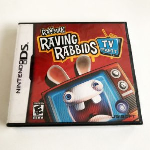 Rayman - Raving Rabbids TV Party - Nintendo DS 2DS 3DS