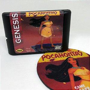 Cartucho Pocahontas - Mega Drive