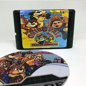 Cartucho Chip n Dale - Tico e Teco - Mega Drive