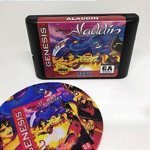 Cartucho Aladdin - Mega Drive