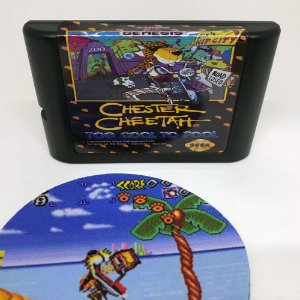 Cartucho Chester Cheetah - Mega Drive