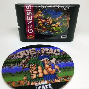 Cartucho Joe e Mac - Mega Drive