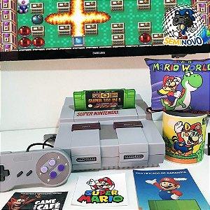 Super Nintendo com 101 Games