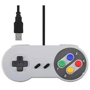 Controle USB Super Nintendo - Famicom