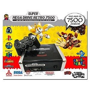 Box Super Mega Drive Retro 7500