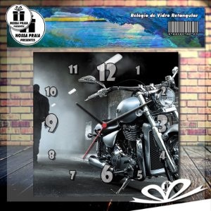 Relógio Motorcycle