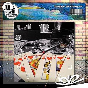 Relógio Poker Cards