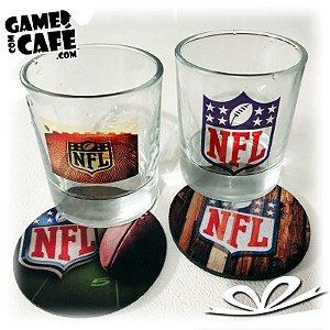 Copos de Whisky NFL