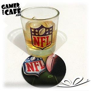 Copo de Whisky NFL Logo