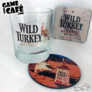 Copo de Whisky Wild Turkey