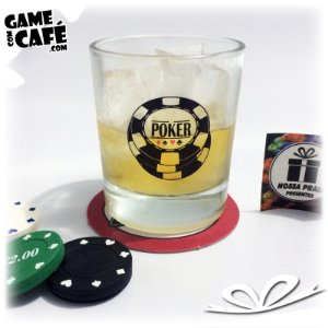 Copo de Whisky Poker Chips