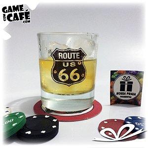 Copo de Whisky Route 66