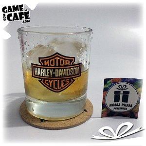 Copo de Whisky Harley Davidson