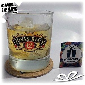 Copo de Whisky Chivas 12 Anos