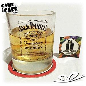 Copo de Whisky Jack Daniels