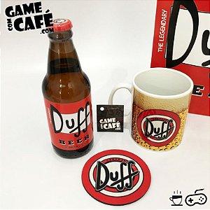 Cerveja Duff Beer + Caneca dos Simpsons