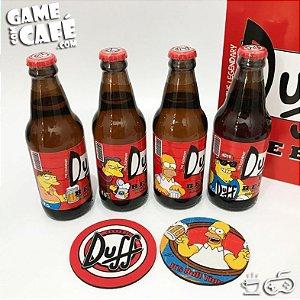 Coleção Springfield - 4 Cervejas Duff Beer