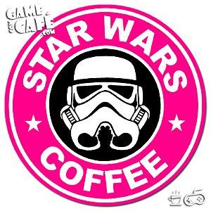 Porta-Copo H37 Star Wars Coffee Pink