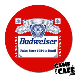 Porta-Copo G30 Budweiser