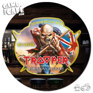Porta-Copo G174 The Trooper Iron Maiden
