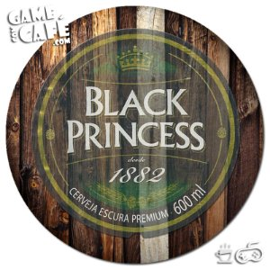 Porta-Copo G188 Black Princess