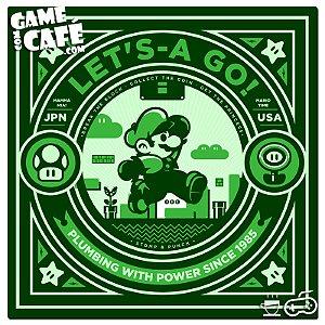 Porta-Copo A80 Luigi Lets a Go