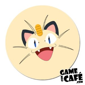 Porta-Copo K07 Pokemon Meowth