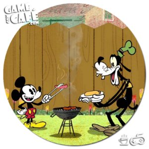 Porta-Copo W205 Mickey e Pateta Vintage