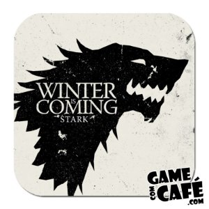 Porta-Copo W13 Winter is Coming - Game of Thrones