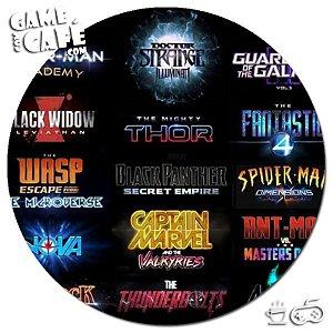 Porta-Copo W169 Marvel Movies