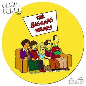 Porta-Copo W222  Big Bang Theory - The Simpsons