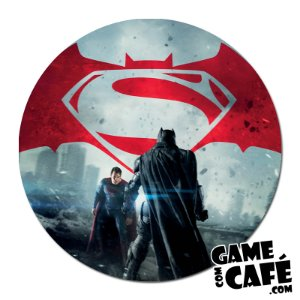 Porta-Copo D43 Batman VS Super Homem
