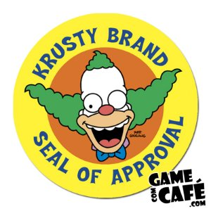 Porta-Copo Os Simpsons S21 Krusty