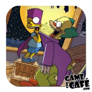 Porta-Copo Os Simpsons S45 Bart e Krusty