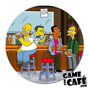 Porta-Copo Os Simpsons S61 Bar do Moes
