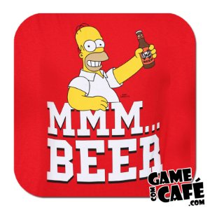 Porta-Copo Os Simpsons S74 Homer Beer