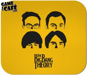 Mouse Pad F03 Big Bang Theory