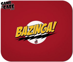 Mouse Pad F04 Big Bang Theory - Bazinga
