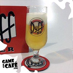 Taça de Cerveja Duff Beer