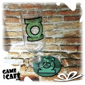 Taça de Cerveja Lanterna Verde