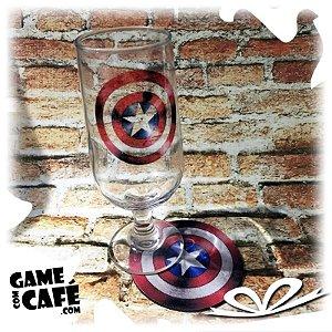 Taça de Cerveja Capitão América