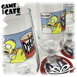 Taça de Cerveja Duff Beer - Homer Simpson