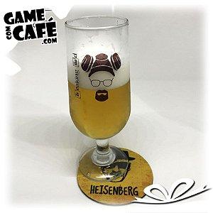 Taça de Cerveja Breaking Bad - Heinsenberg