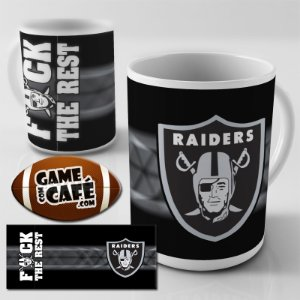 Caneca E59 Raiders - Fck the Rest