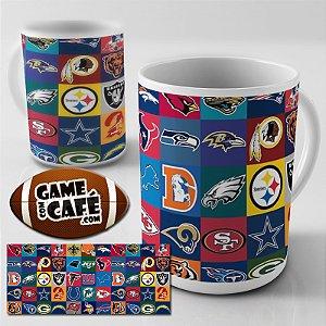 Caneca E63 NFL Logos