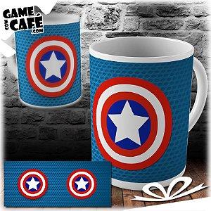 Caneca H03 Capitão América