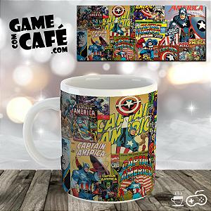 Caneca H25 Quadrinhos Capitão América