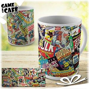 Caneca H28 Quadrinhos Marvel